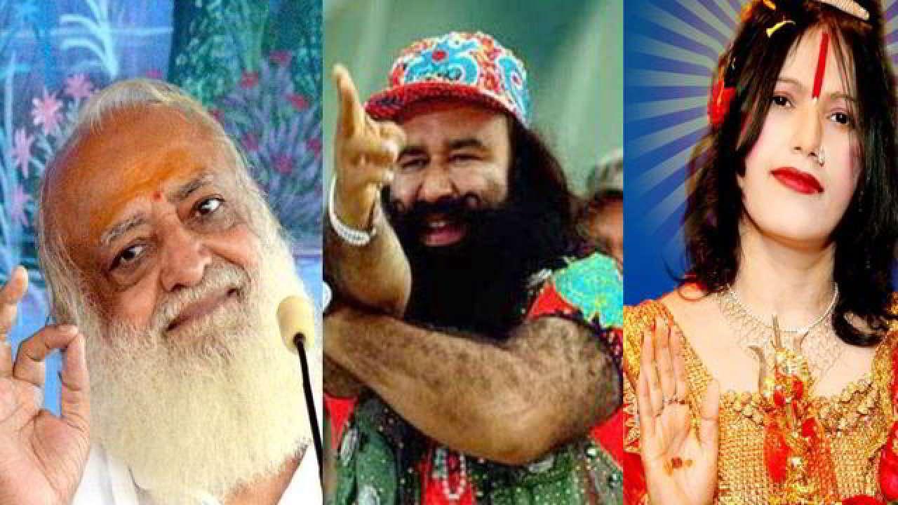 Radhe Maa, Ram Rahim, Asaram