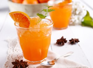 granita w orange