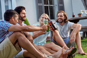 outdoor garden party