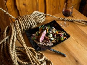 Transition to Autumn With a Big Steak and a Big Red Wine