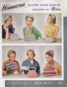 Vintage 50's Crochet Hat Bag Patterns
