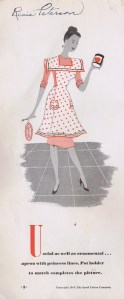 vintage aprons pattern