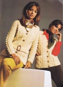vintage Aran Knit