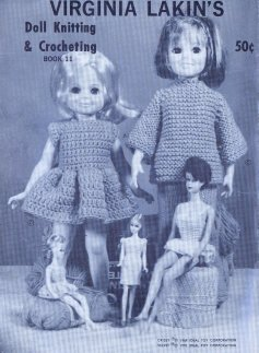 Sharing Vintage Crochet Knitted Doll Clothes