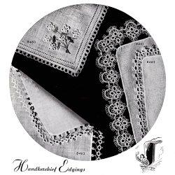tatted handkerchief edging patterns