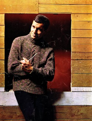 vintage turtleneck sweater pattern