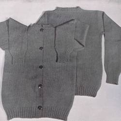 Cardigan vintage pattern with setin sleeves mens