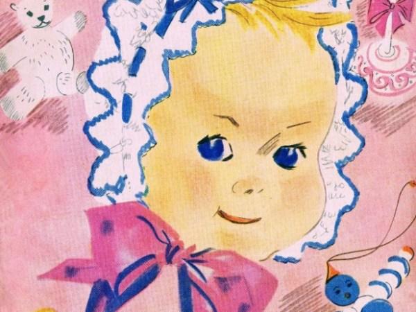 Vintage Knitting Patterns Babies