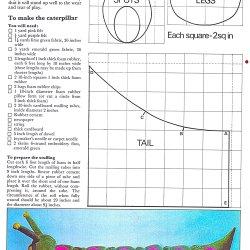 vintage caterpillar toy playroom seat sewing pattern free
