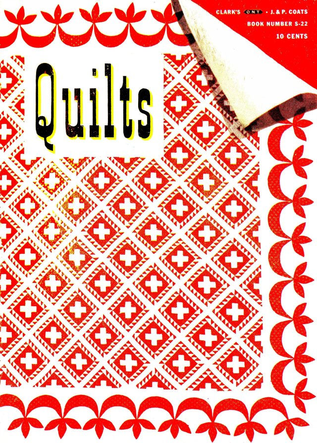 "Spool Cotton ""Quilts"" 1945 