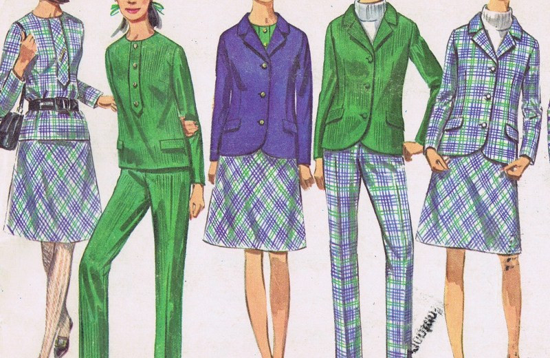 7191 Vintage Simplicity Pants Jacket Skirt Sewing Pattern Bust 36 Hip 40 Inches