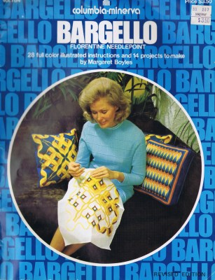 SOLD Bargello Florentine Needlepoint