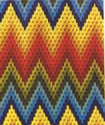 Bargello Columbia Minerva Pattern Motif charts
