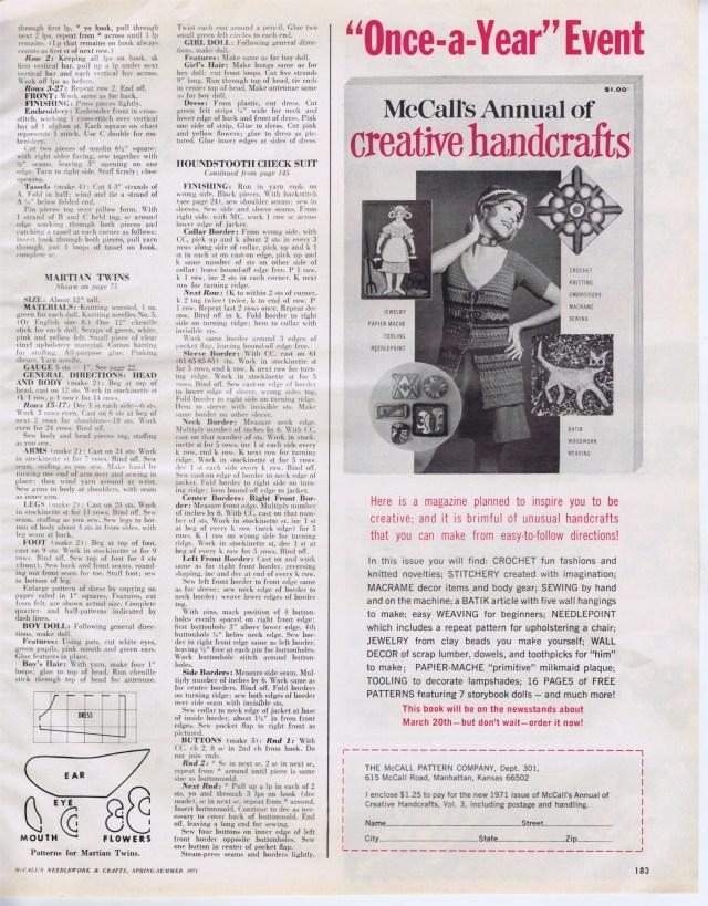 McCalls Needlework Spr Sum 1971 183