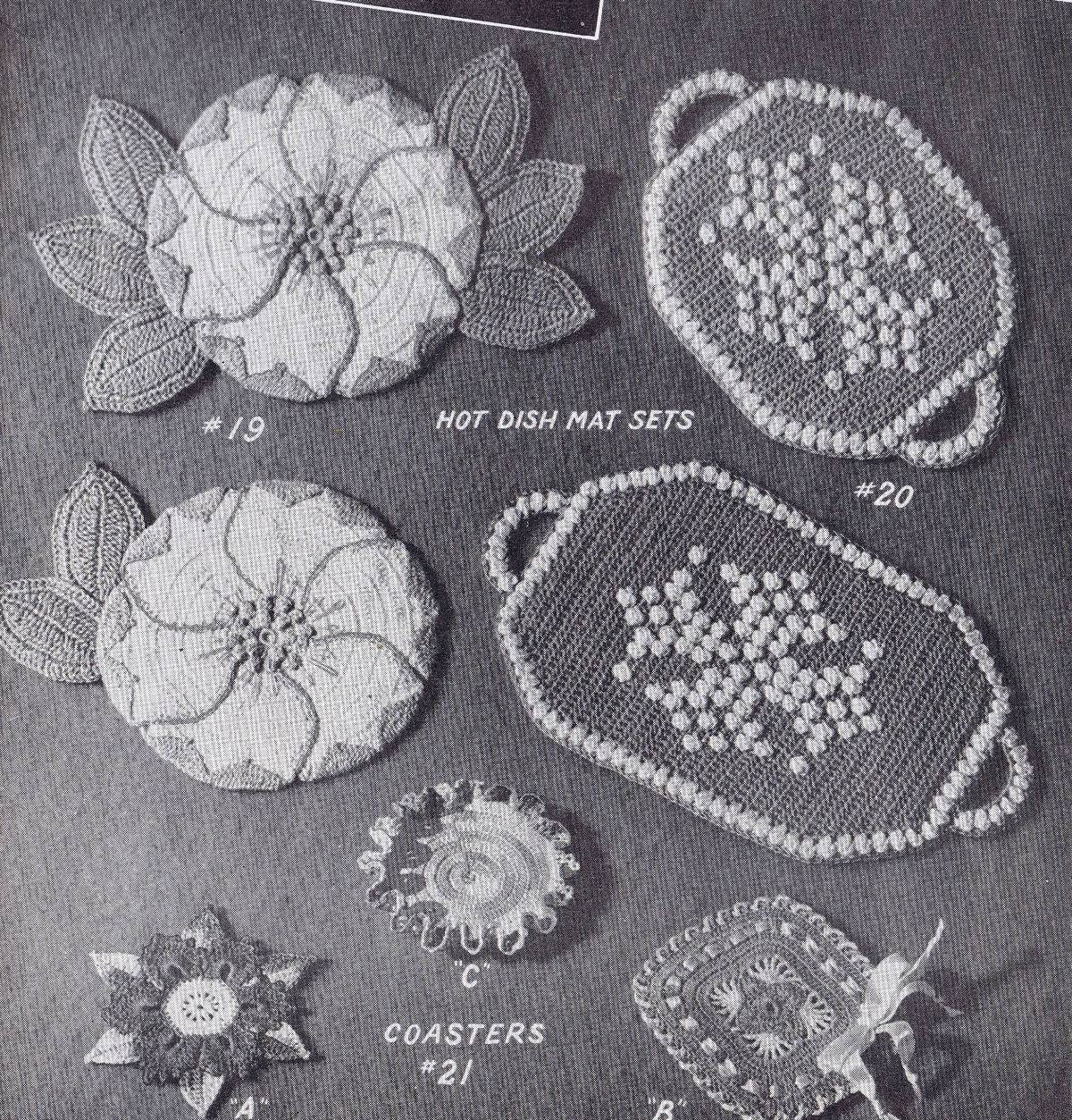 vintage crochet patterns 1200 Lily Album