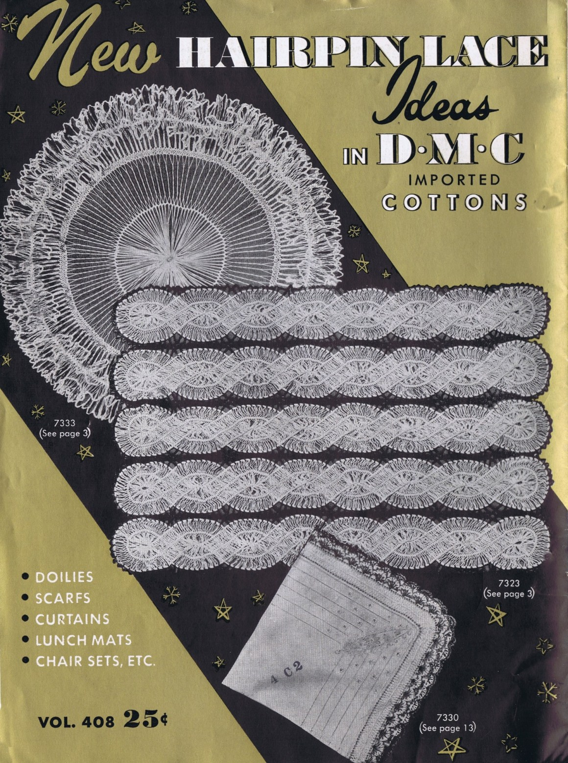 99f654eb39 Free Vintage Hairpin Maltese Lace Crochet Patterns - Vintage ...