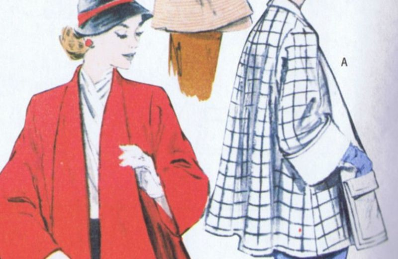 5716 5716 Butterick SEWING PATTERN Swing Coat Vintage