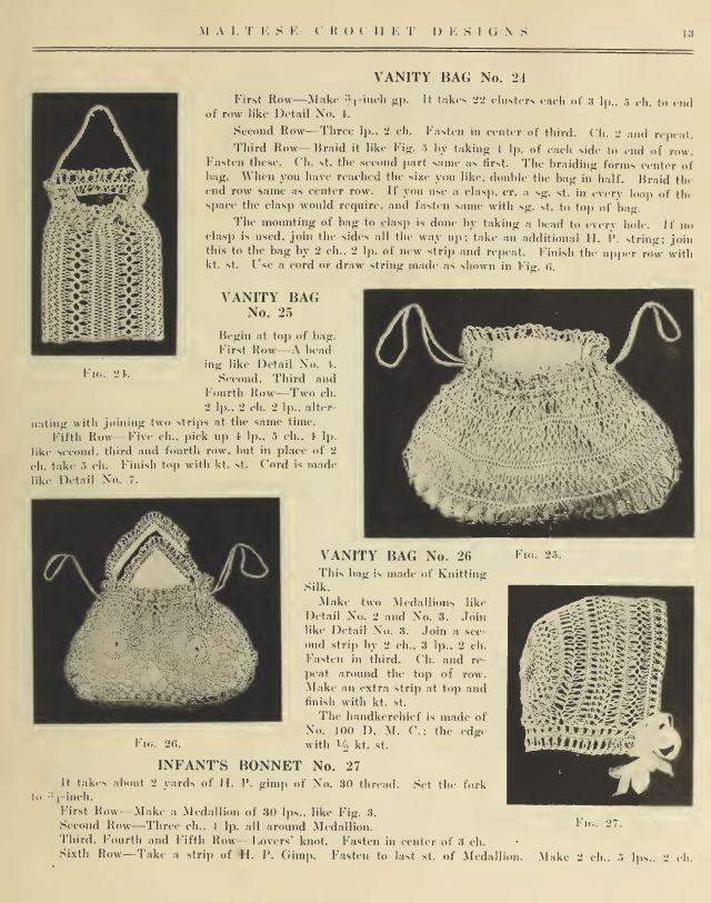 Maltese Hair Pin Lace Crochet 11