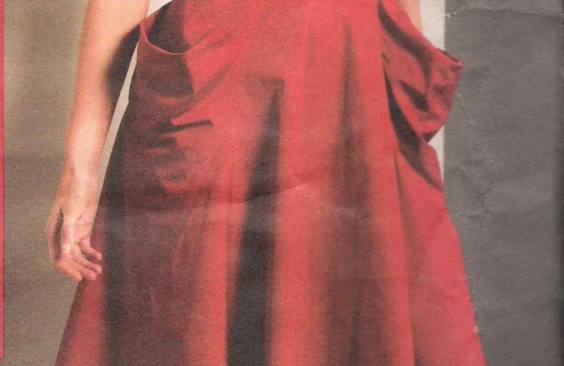 1088 Vogue Halter Dress Pattern