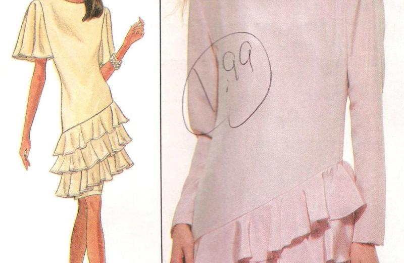 8858 Simplicity Dress Pattern