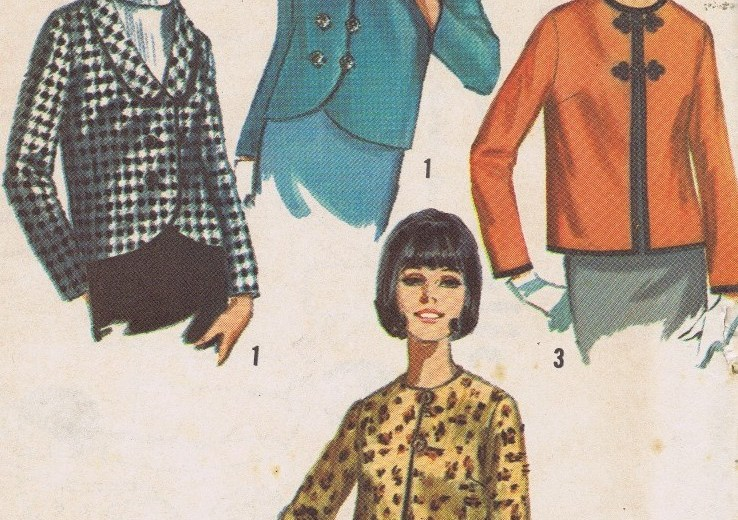 Simplicity 6240 Lined Jacket Pattern Size 14
