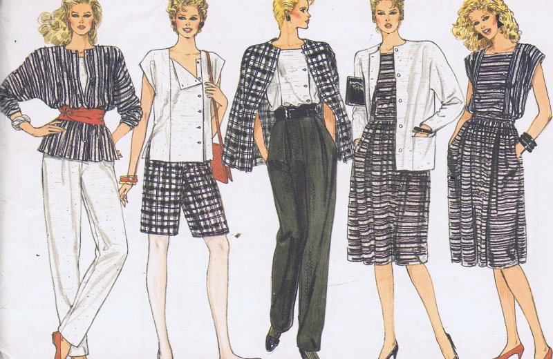 8617 Vogue Jacket Skirt Pants Pattern Size 14-18