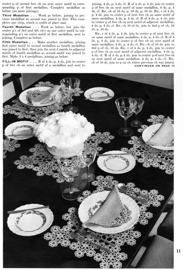 Service for Four Luncheon Set