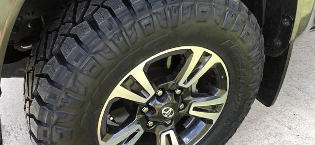 TRD Tacoma with Nitto Ridge Grappler Tires