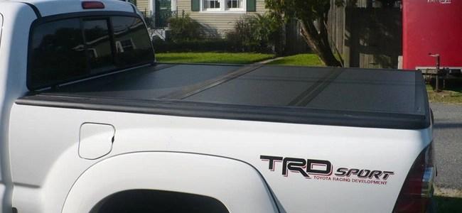 TRD Tacoma With Ultra Flex Tonneau Cover