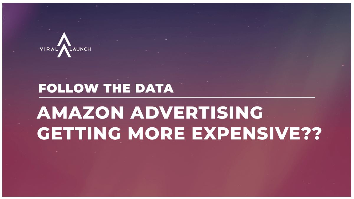 Amazon Advertising Getting More Expensive??