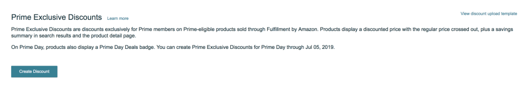 Amazon Prime Exclusive Discounts