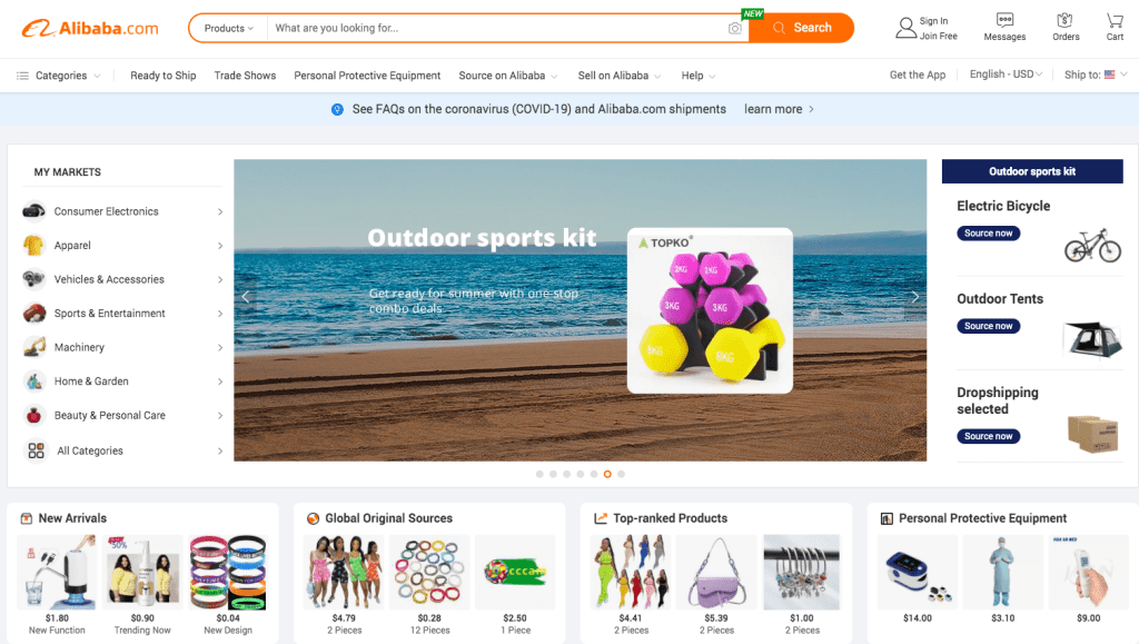 Alibaba helps sellers source products | amazon seller tools