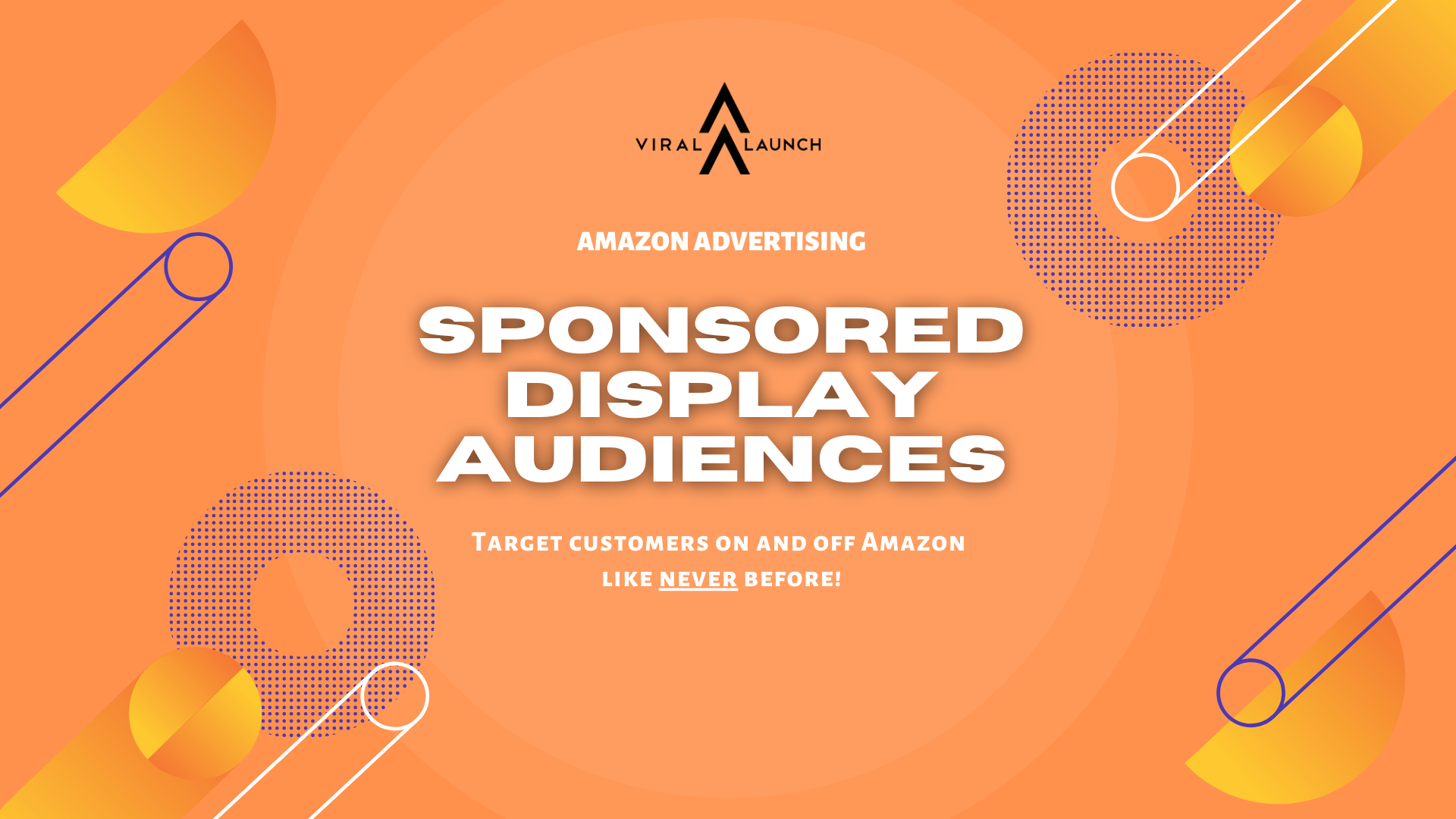 amazon advertising | sponsored display audiences | viral launch