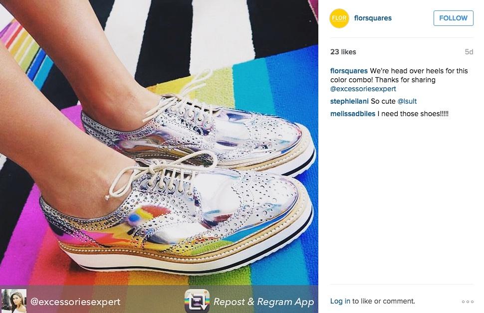 Flor on Instagram