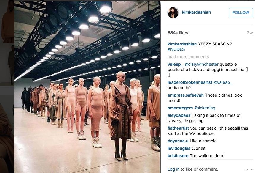 Kim Karsdashian West on Instagram