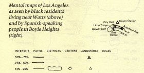 LA as experienced by Indigenous Americans with text labels