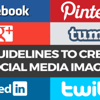 Size Guidelines To Creating Social Media Images