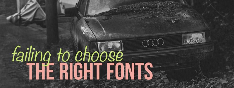 right fonts