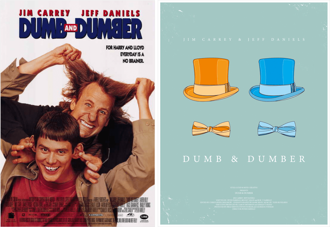 Redesigned-Movie-Posters-to-Inspire-your-Creativity-Dumb-and-Dumber