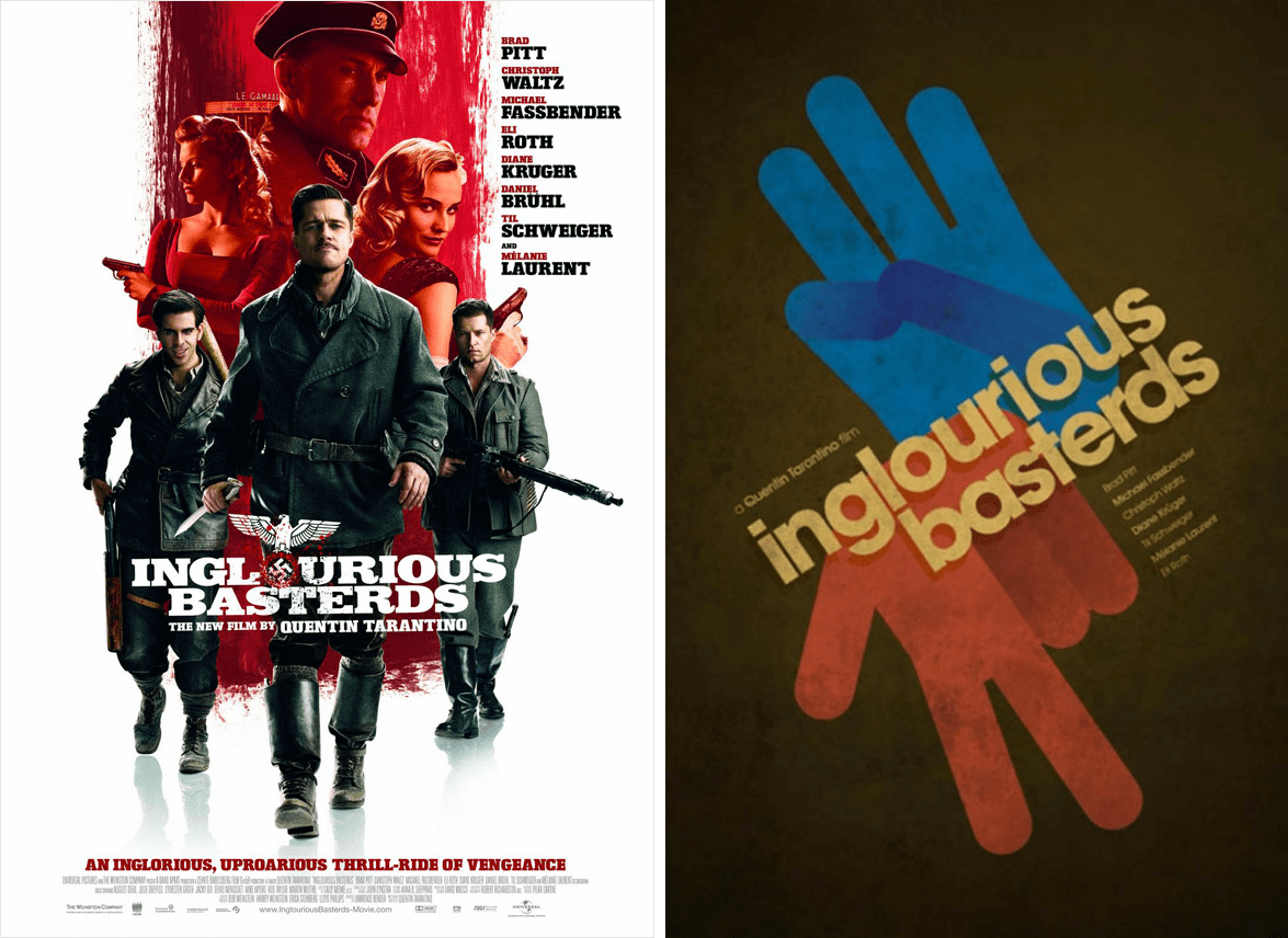 Redesigned-Movie-Posters-to-Inspire-your-Creativity-Inglorious-Basterds