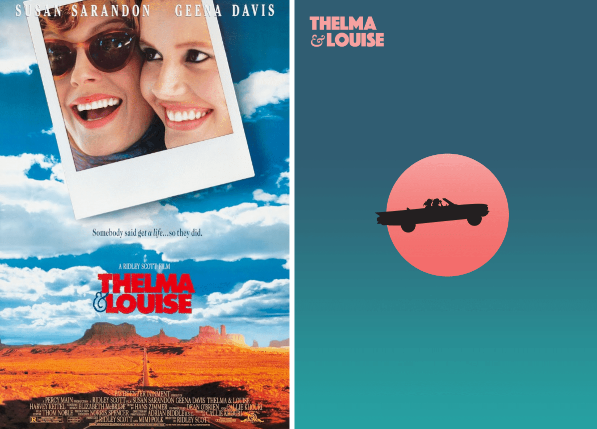 Redesigned-Movie-Posters-to-Inspire-your-Creativity-Thelma-and-Louise