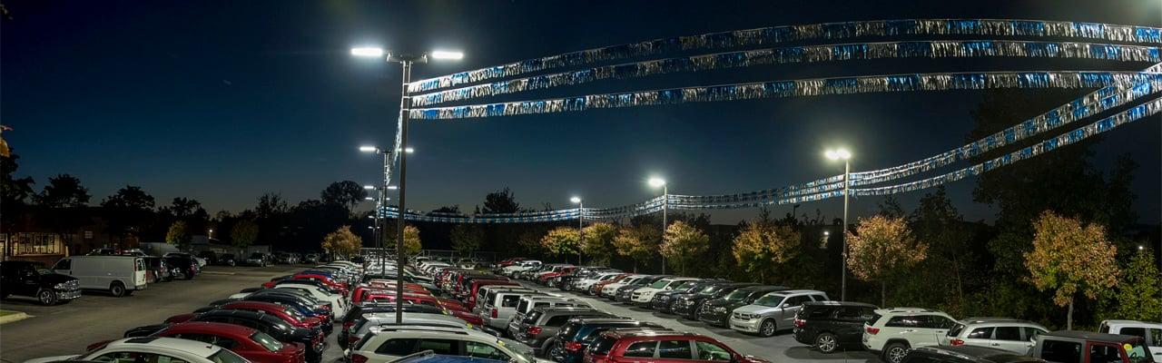 5 guidelines to parking lot lighting design