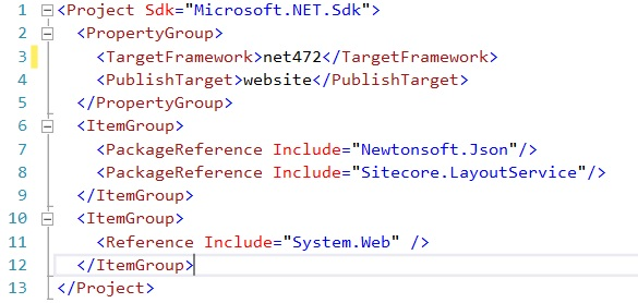 SDK project format for Sitecore solutions   Vitalii Tylyk
