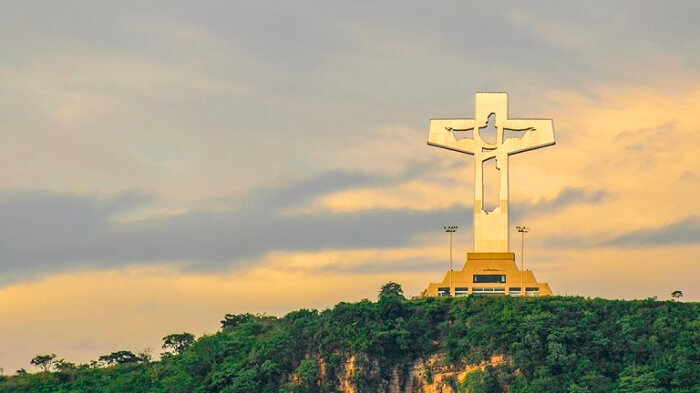 Lugares turísticos en Chiapas Cristo de Copoya