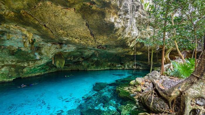 Cenote mas grande de México