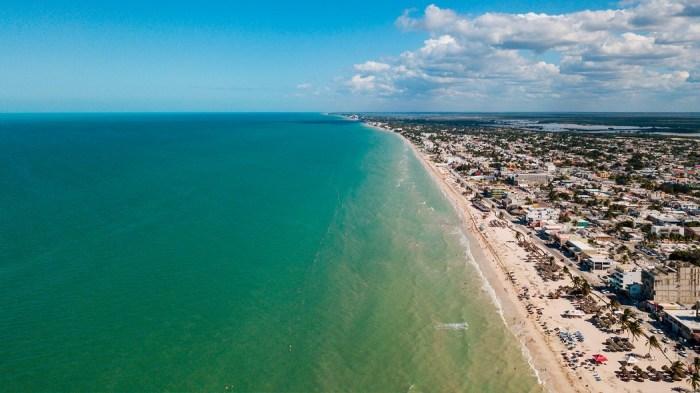 Playa Puerto progreso