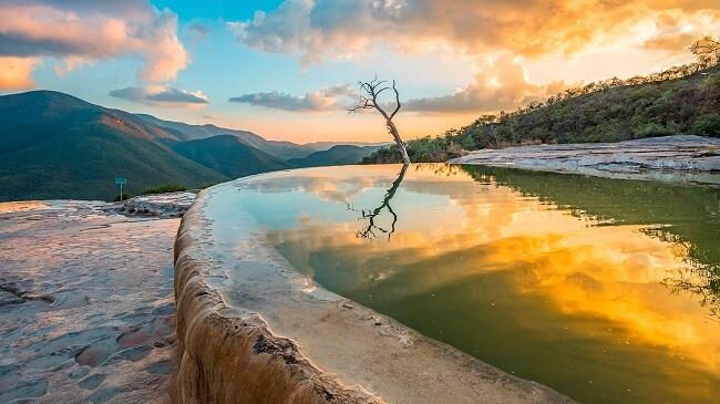 Manantial de Hierve el Agua