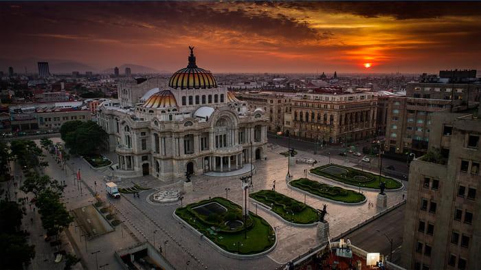 lugares turisticos de la ciudad de mexico bellas artes
