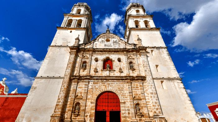 catedral de campeche mexico