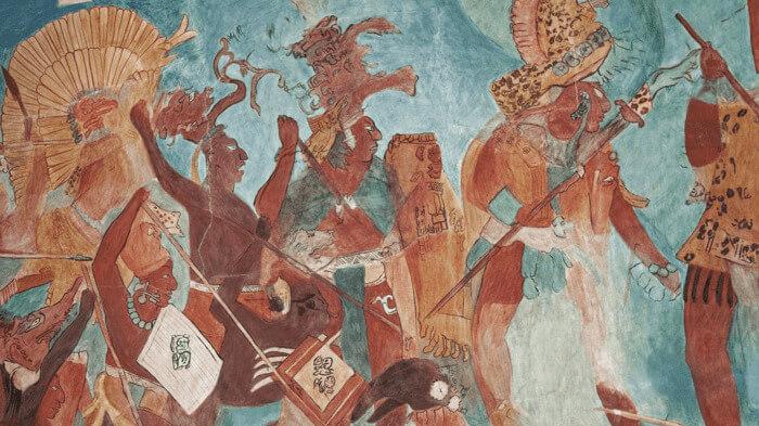 ruinas arqueológicas de Bonampak